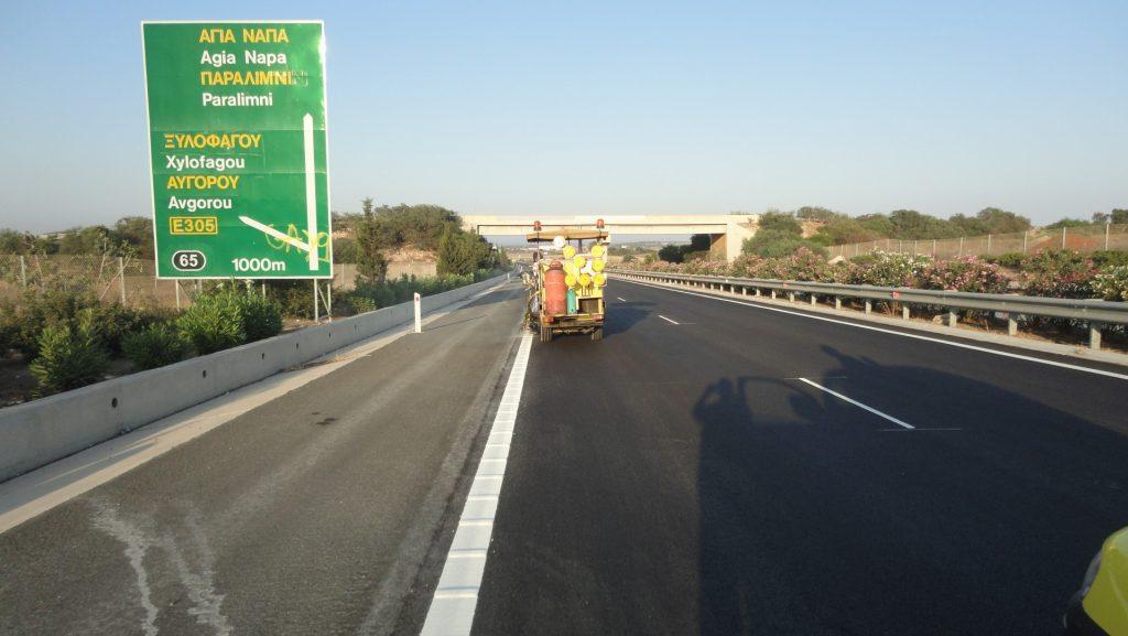 Οριοθετική Διαγράμμιση Gizet Cyprus Flooring Experts